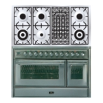 Плита ILVE MT-120BD-VG Stainless-Steel