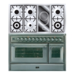 Плита ILVE MT-120VD-VG Stainless-Steel