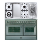 Плита ILVE MTS-120FRD-MP Stainless-Steel